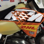 #custom #graphics #ktm #enduro #motocross #graficasparamoto Grafica replica factory 2009