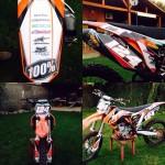 ktm sx250f custom motographics enduro motocross graficasparamoto La nave dehellip
