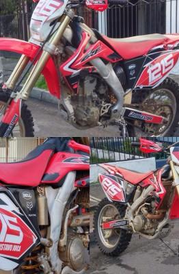 #crf250x #honda #enduro #motocross #custom #motographics #graficasparamoto